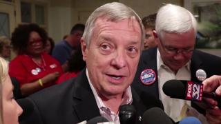 Illinois Democrats Urge Dick Durbin to Run for Governor