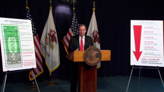 February 17, 2014 - Cullerton on $3 Billion Budget Hole
