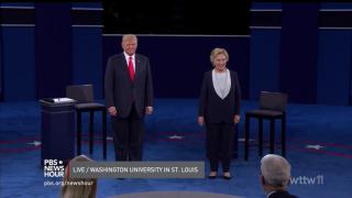 Second Clinton, Trump Debate Gets Personal
