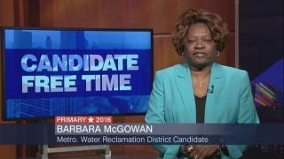 Candidate Free Time: Barbara McGowan