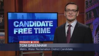 Candidate Free Time: Tom Greenhaw