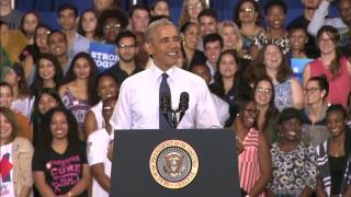 Obama Ramps Up Anti-Trump Rhetoric in Election's Final Days
