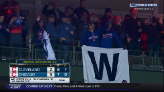 Chicago Cubs Win Game 5, Send World Series Back to Cleveland