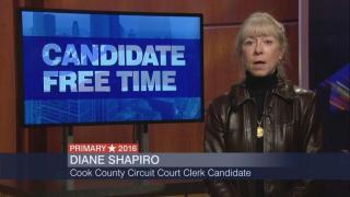 Candidate Free Time: Diane Shapiro