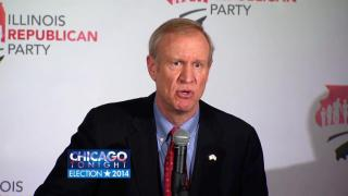 March 19, 2014 - Rauner, Quinn on Day After Election