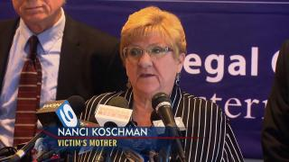 March 24, 2014 - Koschman's Mother Files Lawsuit