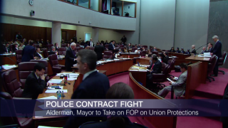 City Council, Police Union Gird for Battle