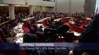 City Council Votes to Raise Water Tax