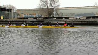 May 6, 2014 - Rowing Upstream