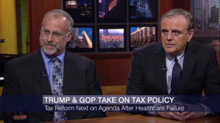 Trump and GOP Take on Tax Policy After Health Care Flop