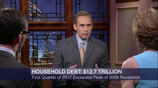 US Household Debt Exceeds Peak Levels of 2008 Recession