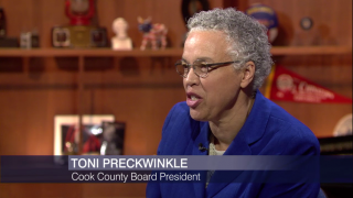 Toni Preckwinkle on Soda Tax Repeal, Budget Shortfall