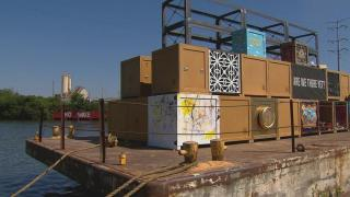 Floating Museum Begins its 3-Month Journey Up Chicago River
