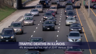 Traffic Fatalities In Illinois On The Rise in 2017