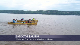 Paul Meincke Completes His Mississippi River Canoe Trip