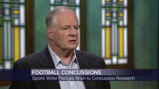 Rick Telander Pledges Brain to Concussion Research