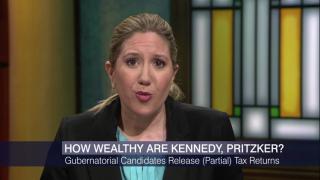 Chris Kennedy, J.B. Pritzker Release Partial Tax Returns