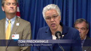 Preckwinkle and Dart Spar Over Cook County Layoffs
