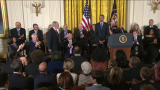 Newt Minow Receives Presidential Medal of Freedom