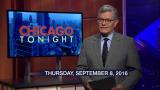 September 8, 2016 - Full Show