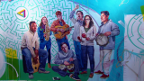 Big Mural on Campus: Lane Tech High School Adds to Art Collection