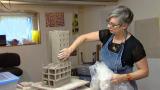 November 6, 2014 - Artist Alison Ruttan Creates Destruction