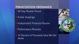 August 18, 2015 - Proposed Privatization Ordinance