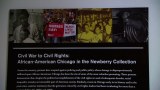 History of African-Americans in Chicago Focus of Newberry Exhibit