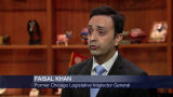 Former Legislative Inspector General Faisal Khan Speaks Out