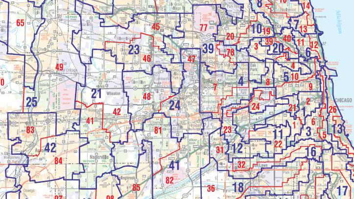 Image result for illinois independent maps