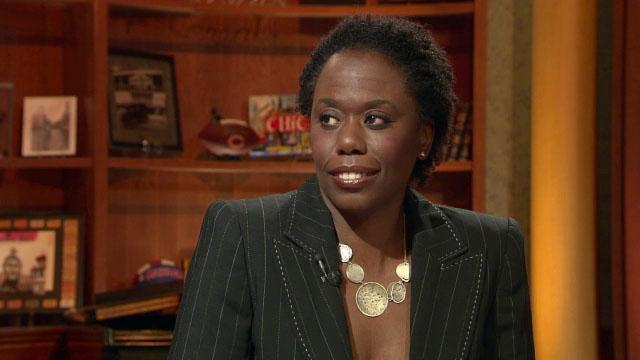 "Carole Brown on ""Chicago Tonight"" in 2011 discussing TIF reform."