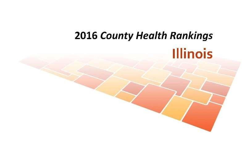See rankings for Illinois counties.