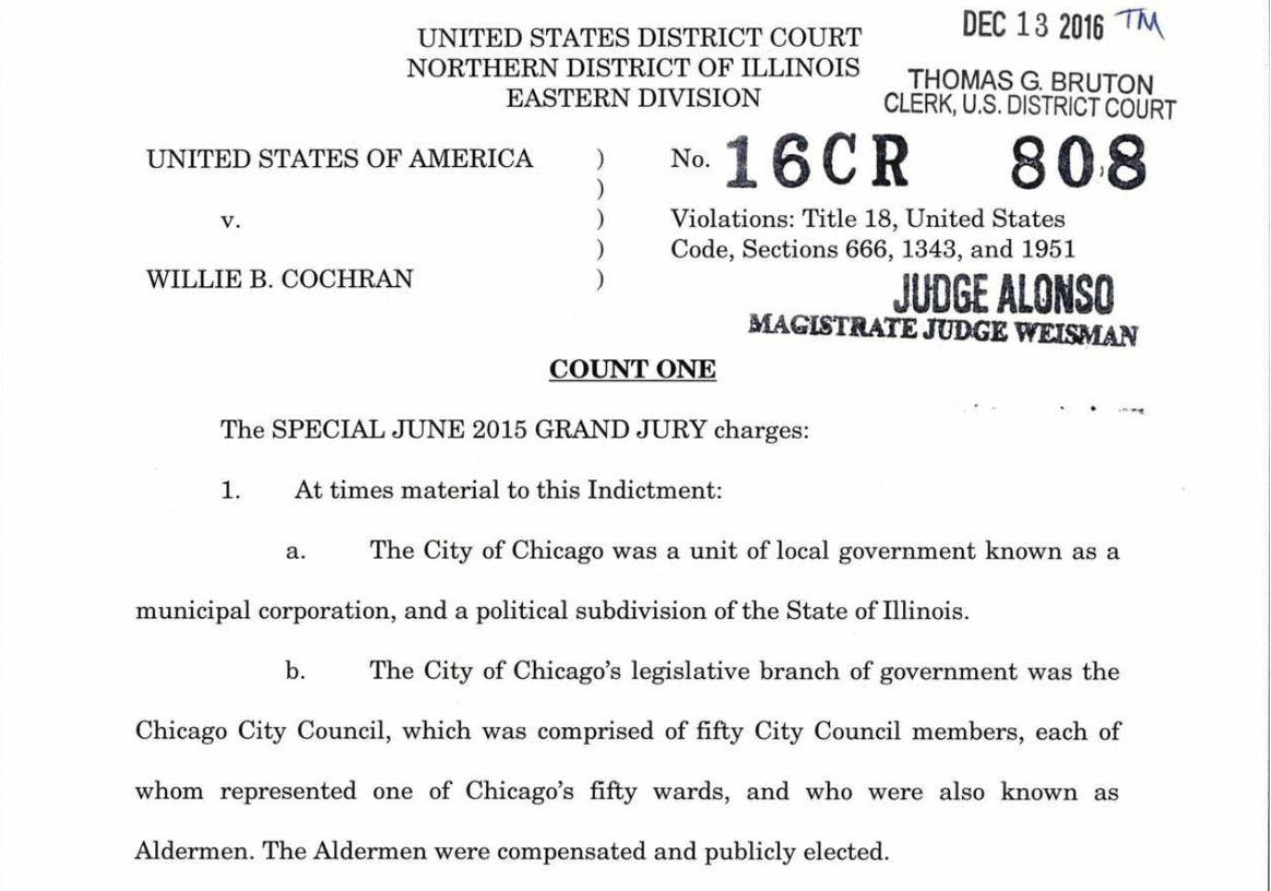 Document: Read the indictment.