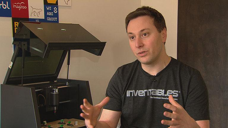 Zack Kaplan, founder of Inventables