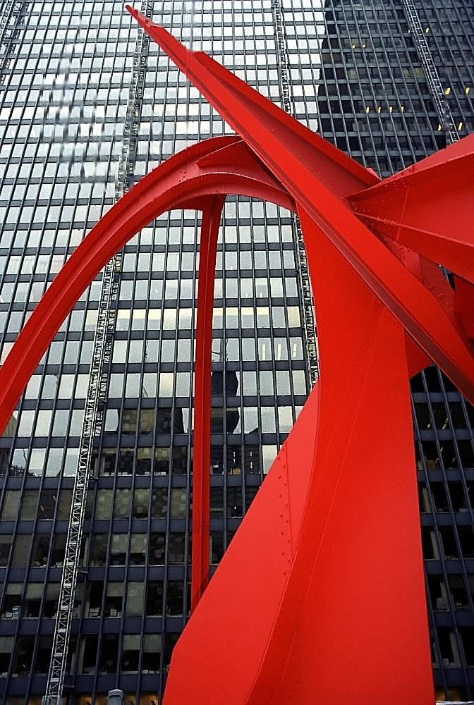 "Alexander Calder, ""Flamingo"" (David Ohmer / Flickr)"