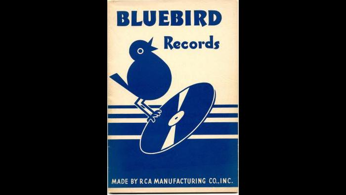1937 Bluebird Record Catalog Cover