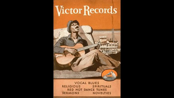 1930 Victor Race Record Catalog Cover