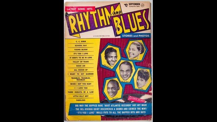 Rhythm and Blues Magazine Cover