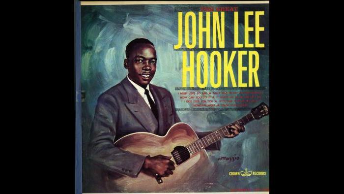John Lee Hooker - Crown LP - Fazzio Cover