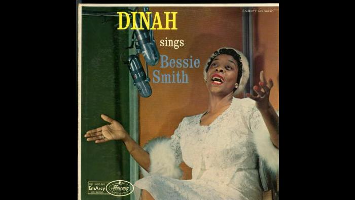 "Dinah Washington - Emarcy/Mercury LP Cover – ""Sings Bessie Smith"""