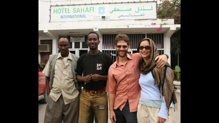 """Sahafi Hotel, Dan's last address"" (Courtesy of Jeffrey Gettleman)"
