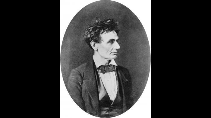 Abraham Lincoln, 1857, Library of Congress