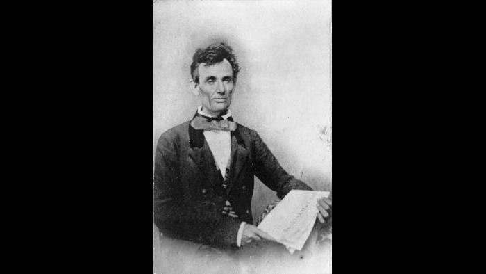 Abraham Lincoln, October 27, 1854, Chicago, Illinois, Library of Congress; Digital version courtesy of Daniel Weinberg, the Abraham Lincoln Bookshop, Chicago