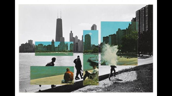 """Ken Josephson's """"Chicago, 1972."""" (Courtesy of the Terra Foundation for American Art)"""