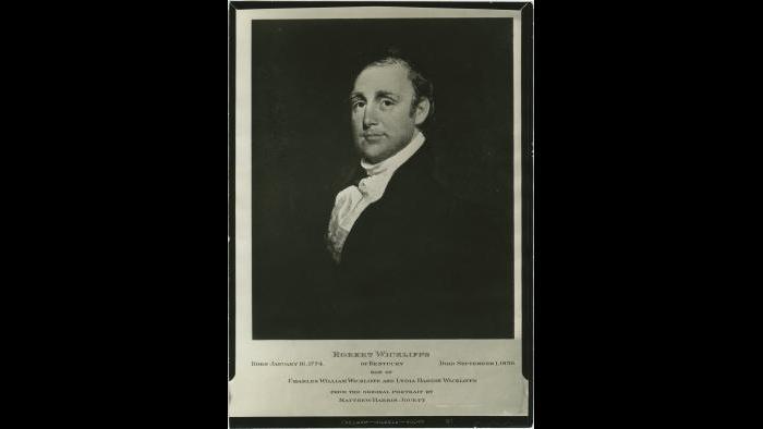 Robert Wickliffe, University of Kentucky Libraries, John Winston Coleman Jr. collection on slavery in Kentucky