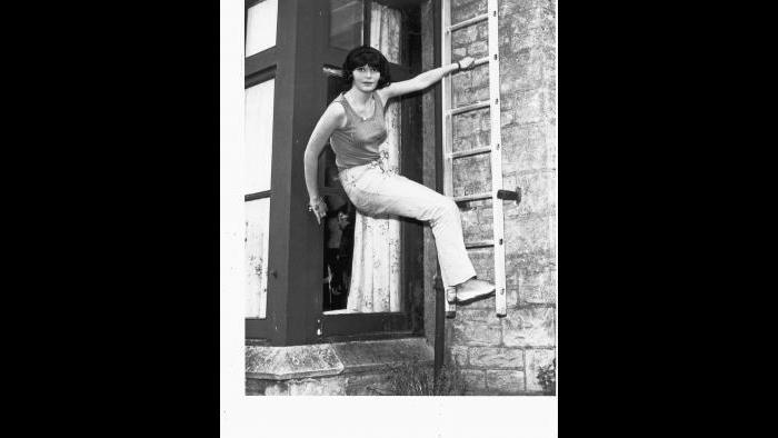 Diane in the 1960s. (Courtesy of Martin Muller)
