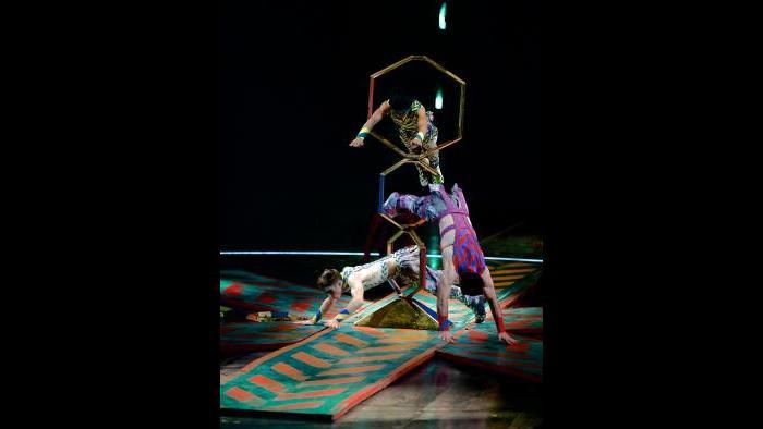 """Cirque du Soleil's """"Volta"""" (Credit: Michael Kass)"""