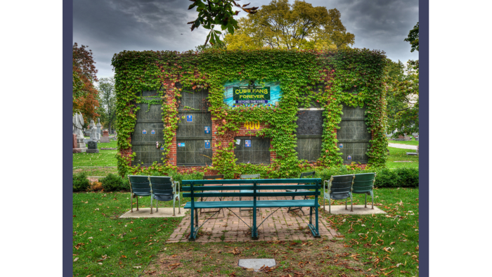 Wrigley Field Columbarium, Bohemian Cemetery (Credit: Larry Broutman)