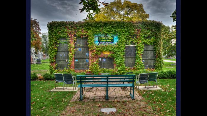 Wrigley Field Columbarium, Bohemian Cemetery (Credit: Larry Broutman)