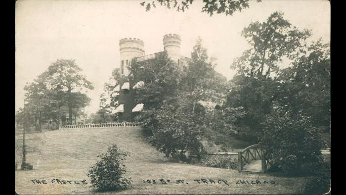 This is a 1912 photo from relatives of the Burdett family, who were the second family that owned the castle. (Courtesy of the collection of Suzanne McCormick Savage)